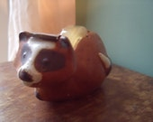 Vintage 1970's Raccoon tape dispenser