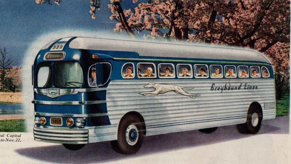 Eddie's Rail Fan Page: Fifth Avenue Cach Lines General ... |Photos Old City Buses 1950