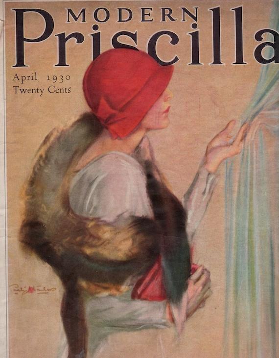 modern priscilla magazine 1930 great art deco illustrations. Black Bedroom Furniture Sets. Home Design Ideas