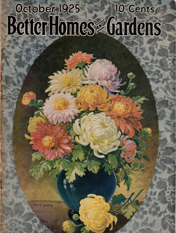 1925 better homes and gardens magazine great by. Black Bedroom Furniture Sets. Home Design Ideas