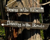 Rustic Salvaged Wood signs