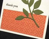 Reserved for Penneymiracles -- Leafy Branch mini thank-you cards