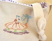 Berry Bluebird Pie Purse