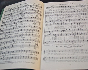 Vintge Men's Get-Together Songs circa 1938
