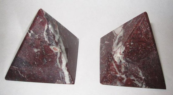 Pair of Awesome Stone Triangular Pieces