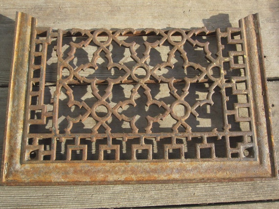 Reserved for Malibu Johnny - Architectural Salvage - Cast Iron Grate