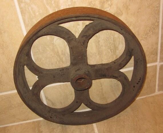 Heavy Old Antique Wheel