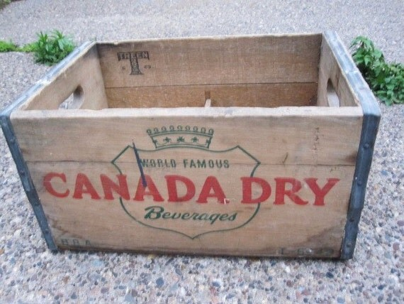Old Canada Dry Crate