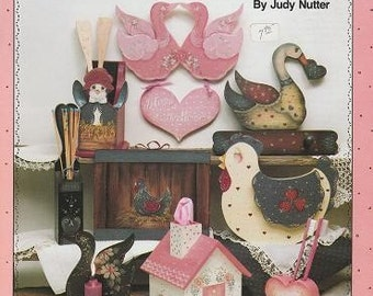 The Simple Joys, Folk Art Painting For Country Decorating, by Judy Nutter