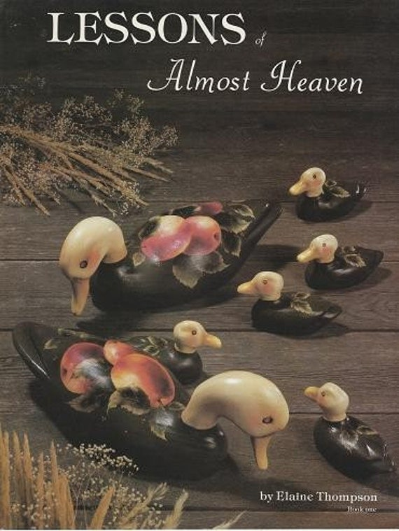 3- Elaine Thompson Almost Heaven Painting Books