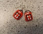 Left 4 Dead Inspired Medpack Earrings