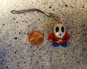 Super Mario Shy Guy Cellphone Strap