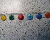 Legend of Zelda Ocarina of time Medallion Pendant Bracelet