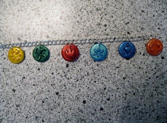 Legend of Zelda Ocarina of time Medallion Pendant Bracelet
