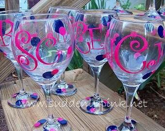 Persoanlized Wine Glasses