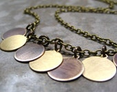 Brass Gypsy Necklace-Carefree