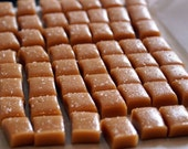 FiRST CLASS - Individually wrapped Fleur de Sel SEA SALT Caramels - 4.5 Ounces