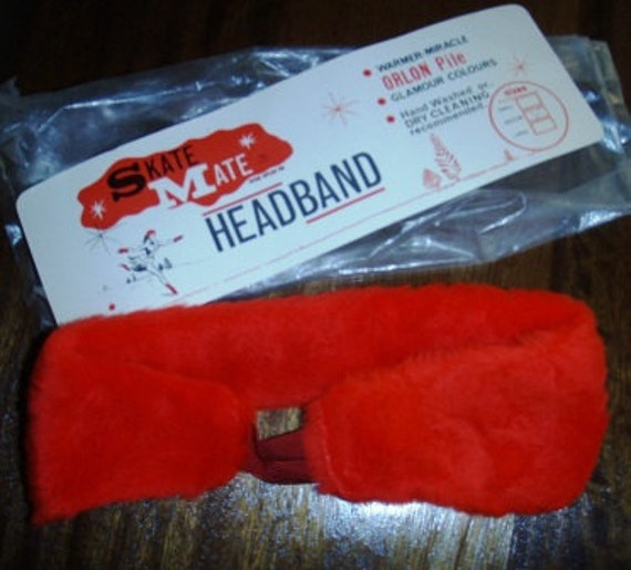 vintage accessories ... SKATE Mate HEADBAND - WOW fun ...