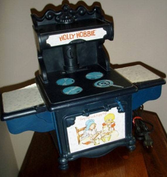 Vintage Childs Play Holly Hobbie Stove Move Over Easybake