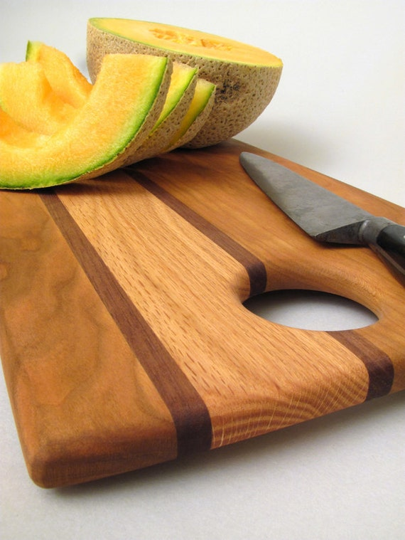 Black Cherry Wood Cutting Board - Sustainable Harvest Wisconsin Woods . Timber Green Woods