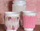 PDF Pattern for Crochet Coffee Sleeve