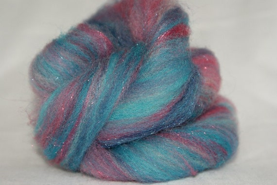 Hand Carded and Pulled Roving 3 oz
