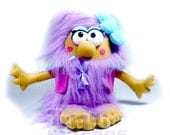 RESERVED FOR JANET. Gweneth. a awesome purple pixie plush Triquimoche
