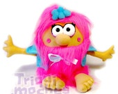 RESERVED FOR JANET. Morgen. a awesome pink pixie plush Triquimoche