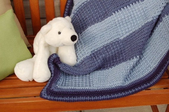 Crochet Patterns Intermediate : Baby Afghan Crochet Pattern intermediate by fromsonuptillsondown