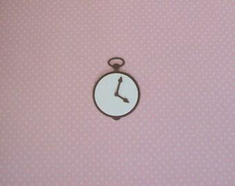 Quickutz Pocket Watch Die Cuts - Bazzill - Set of 5