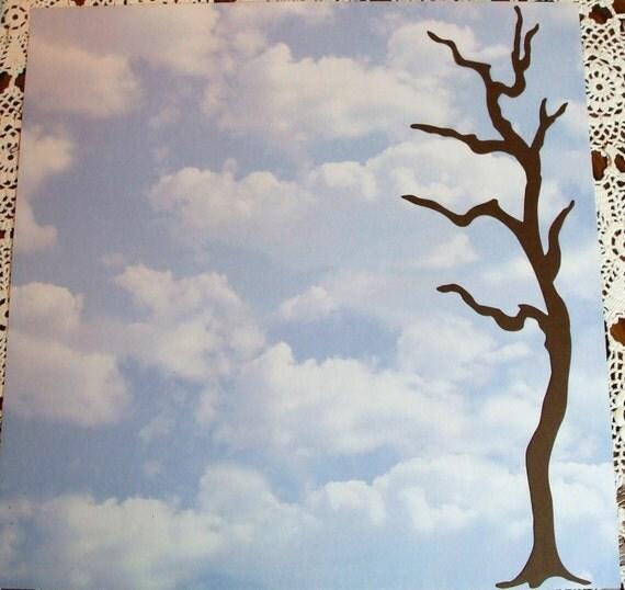 Quickutz Set of Tall Tree Border Die Cuts