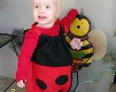 Ladybug Halloween costume - Size 2 toddler
