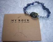 MY ROCK  Inspirational Bracelet - May You Rely On Christ the King