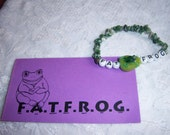 FAT FROG Inspirational Bracelets For All Things Fully Rely On God