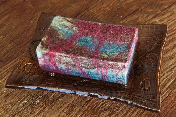Organic Felted Soaps - Thyme Garden