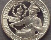 Bicentennial Quarter Cut Coin Jewelry