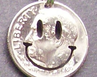 Have A Nice Day Dime Cut Coin Jewelry