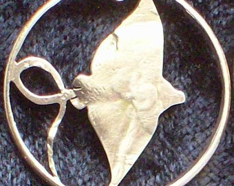 Stingray Hand Cut Coin Jewelry