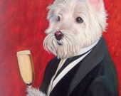 Hand Painted Pet Portraits - Oil on canvas 16x20 (other sizes and options available)
