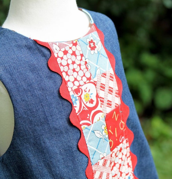 Patchwork Janey Jumper, Size 2T In Stock and Ready to Ship by The Cottage Mama