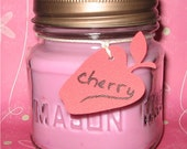 OFG-Homemade 8 oz Cherry Soy Candle