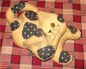 OFG-Handmade Primitive Grungy Cat FREE Shipping