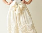 Baby Doll.... White Cotton Dress/Skirt