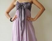 SALE 20% Feel So Good ...Purple Halter Maxi Cotton dress  2 Sizes Available