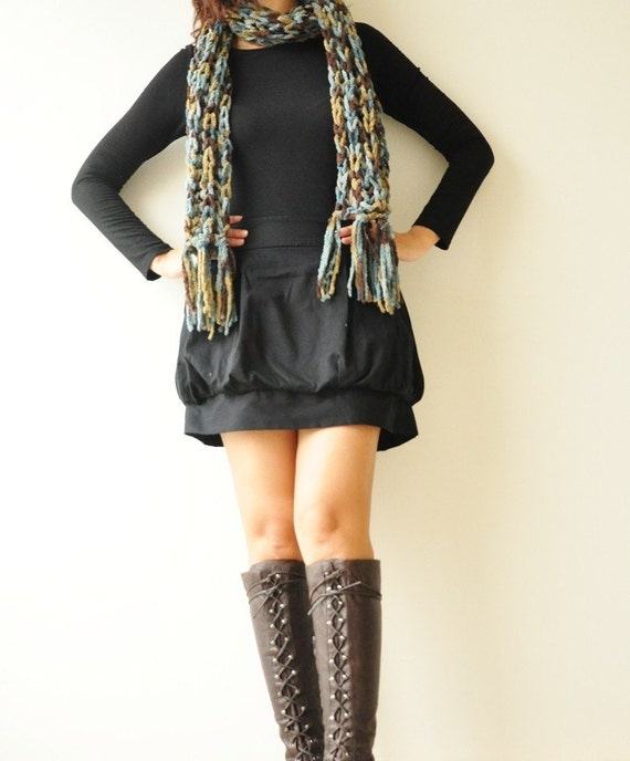 SALE 50%Tulip ...... Black Cotton Skirt- Size S (Limited)
