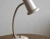 1950s Metal Gooseneck Desk Task Light