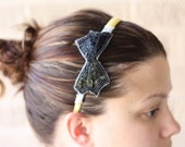 Beaded Bow Blair Headband