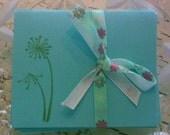 Pretty Spring Flowers Mini Teeny Card Set