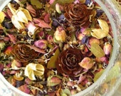 ROMANCE OF THE ROSE All Natural Potpourri  Free Shipping