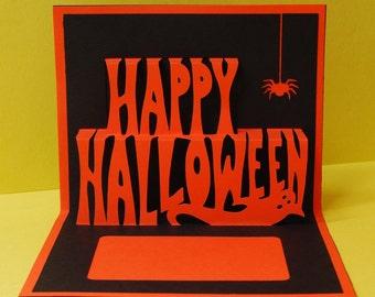 Happy Halloween Pop-Up Card